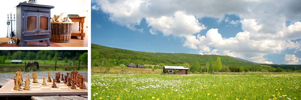 Tulloch Farm, luxury self-catering cottage holidays on a Scottish working farm near Fort William
